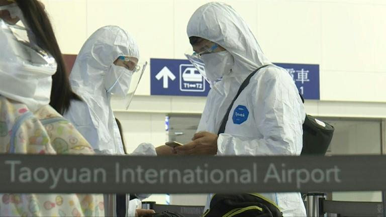Taiwanese board flights to Guam for vaccination vacation
