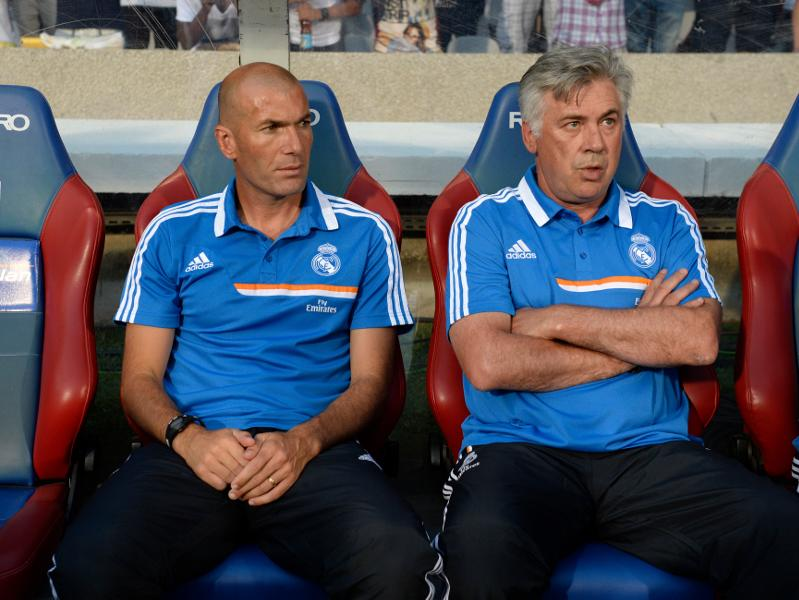 Bayern-Real: Ancelotti-Zidane une relation si particulière