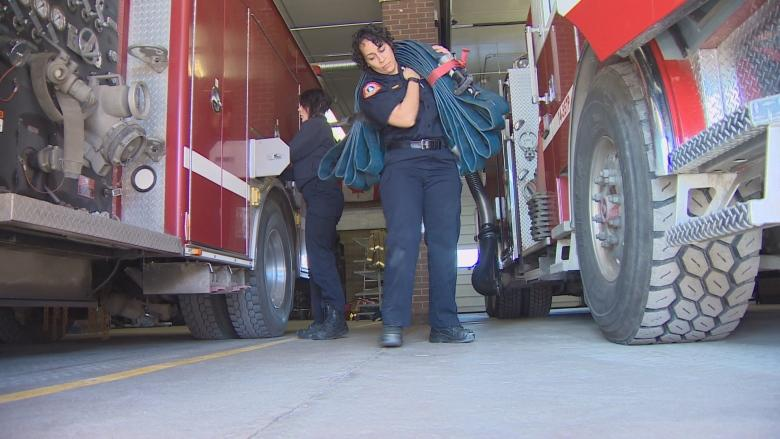 Halifax's only black female professional firefighter paves the way