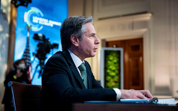Mr Blinken's remarks will be seen as encouraging because one stumbling block to settling the debt is believed to be US sanctions against Iran - Getty Images North America