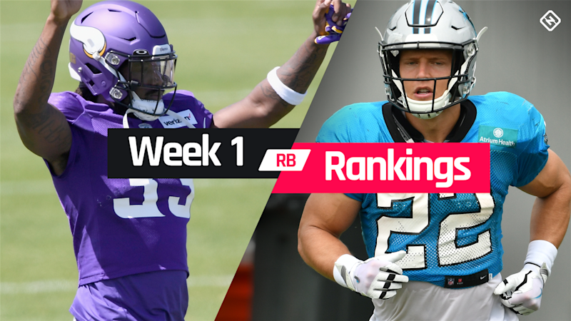 Week 1 Fantasy RB Rankings: Must starts, sleepers, potential busts at running back