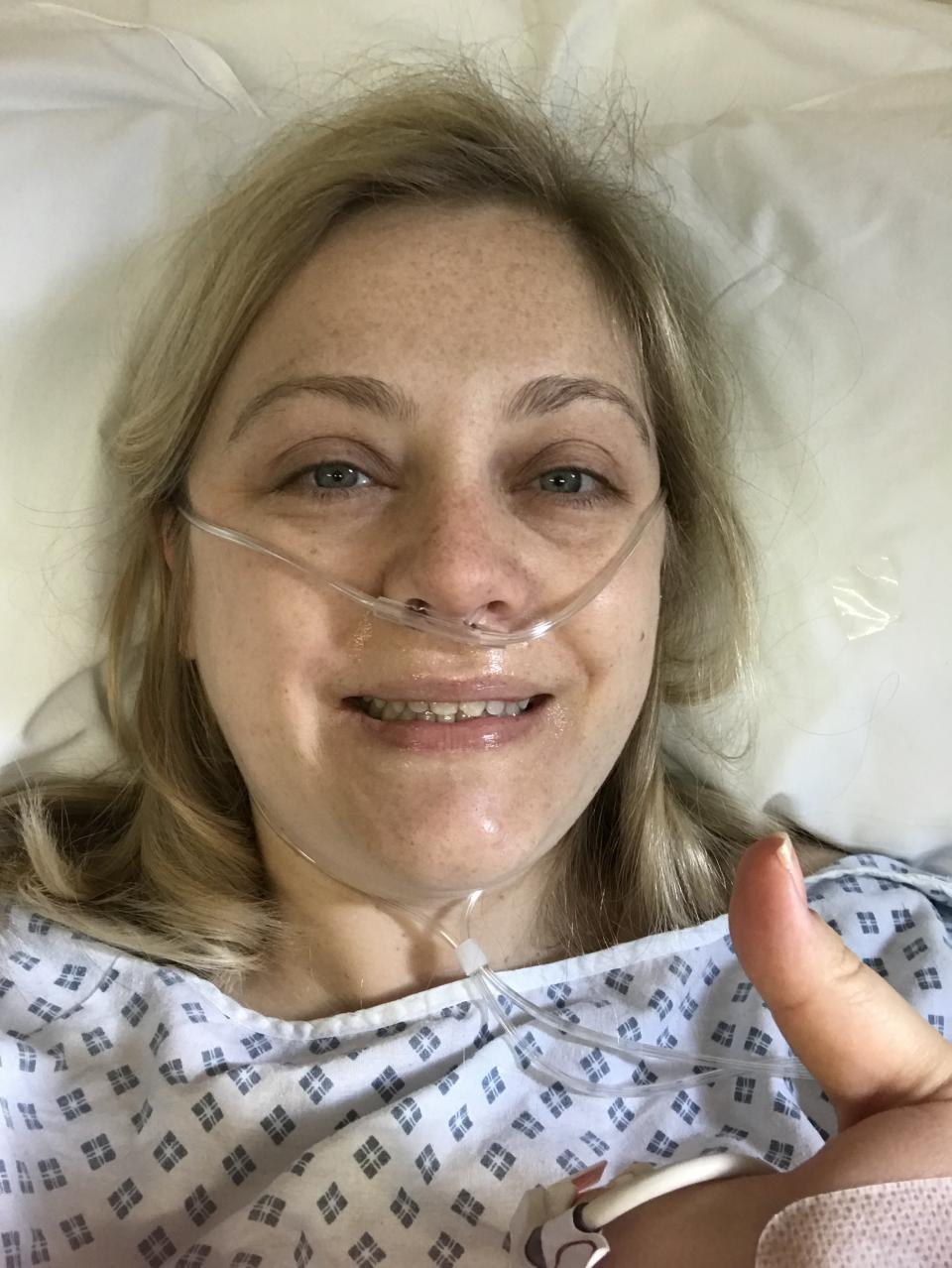 Sara is now running to raise research funds (Sara Hawkins)