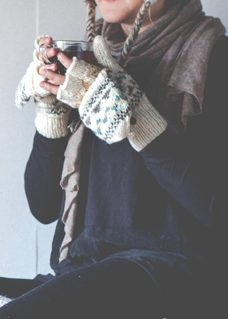 <p>These <span>Ivory Namche Hand-Knit Convertible Mittens</span> ($24) will become an instant winter staple.</p>