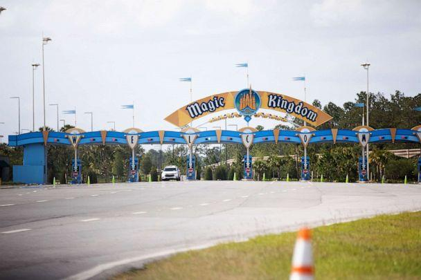 PHOTO: The Magic Kingdom theme park stands temporarily closed at Walt Disney World Resort in Orlando, Fla., May 15, 2020. (Bloomberg via Getty Images)