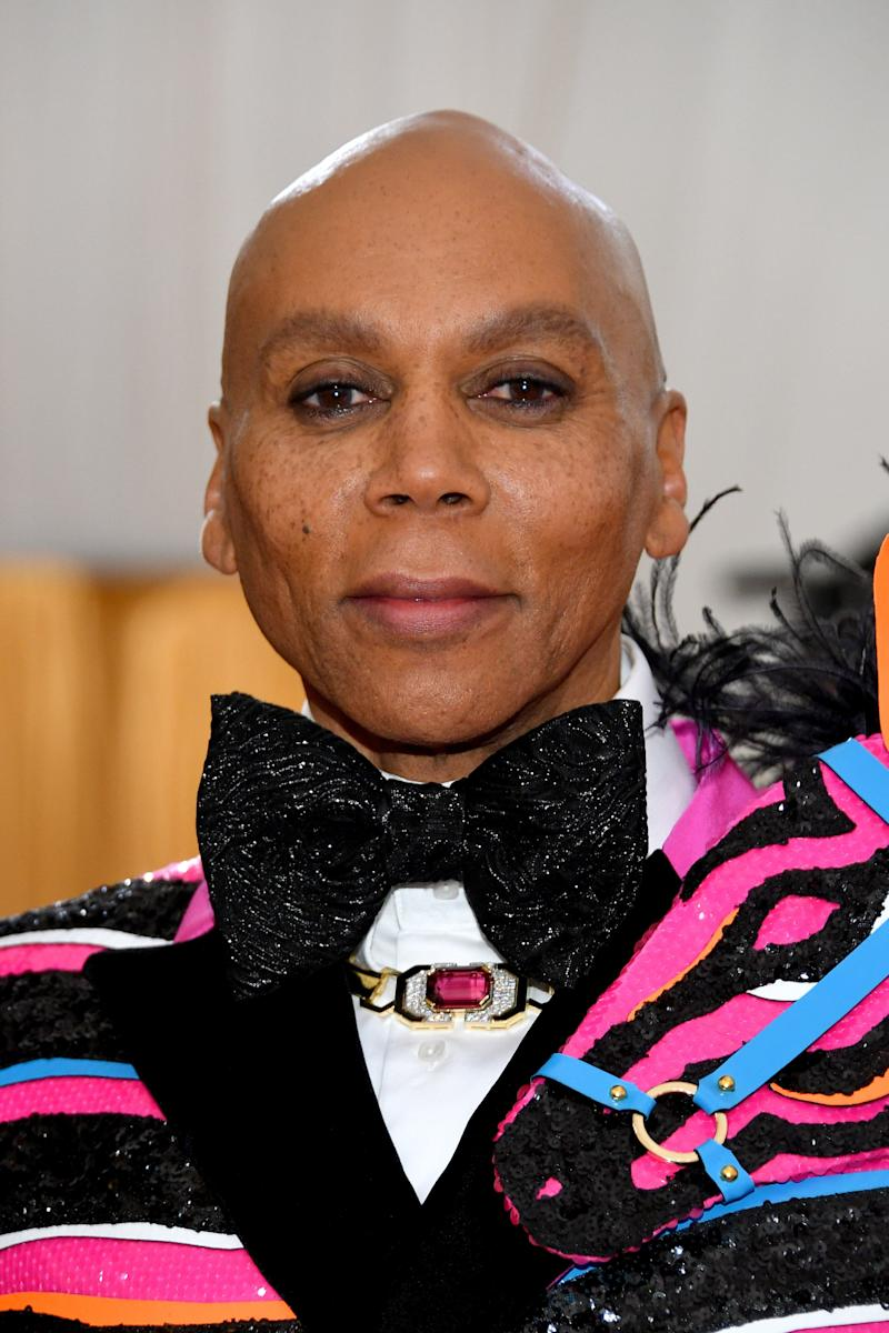 NEW YORK, NEW YORK - MAY 06: RuPaul attends The 2019 Met Gala Celebrating Camp: Notes on Fashion at Metropolitan Museum of Art on May 06, 2019 in New York City. (Photo by Dia Dipasupil/FilmMagic)