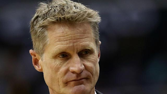 Steve Kerr is expected to miss the remainder of the Warriors' playoff series against the Blazers because of an unexplained illness.