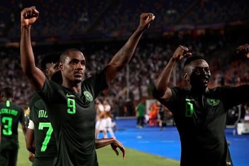 Odion Ighalo (left) made a shock last-minute move to Manchester United on deadline day