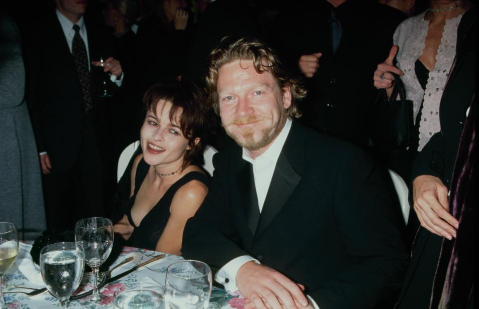 UNITED STATES - circa 1998: British actress Helena Bonham Carter with actor and director Kenneth Branagh. (Photo by The LIFE Picture Collection via Getty Images)