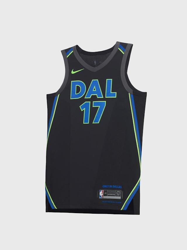 Dallas Mavericks City uniform. (Nike)