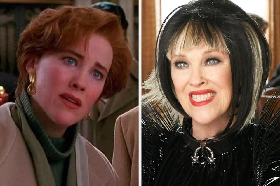 Both played by: Catherine O'Hara