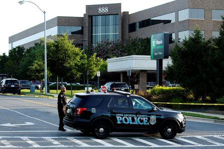 'Multiple people' shot at Maryland newspaper