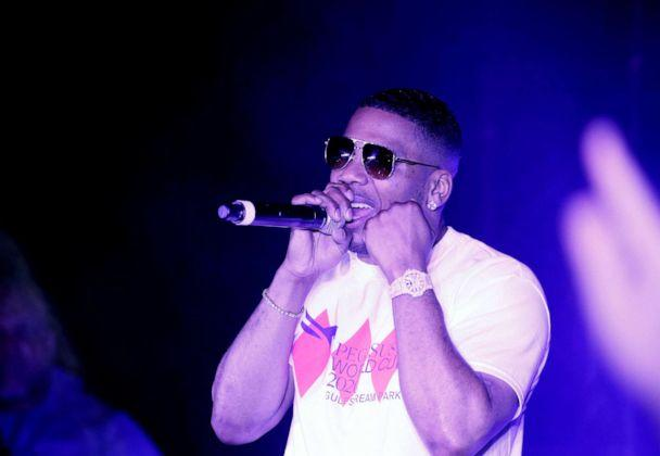 PHOTO: In this Jan 25, 2020, file photo, Nelly performs on stage at the 2020 Pegasus World Cup Championship Invitational Series in Hallandale, Fla. (Paul Morigi/Getty Images for The Stronach Group, FILE)