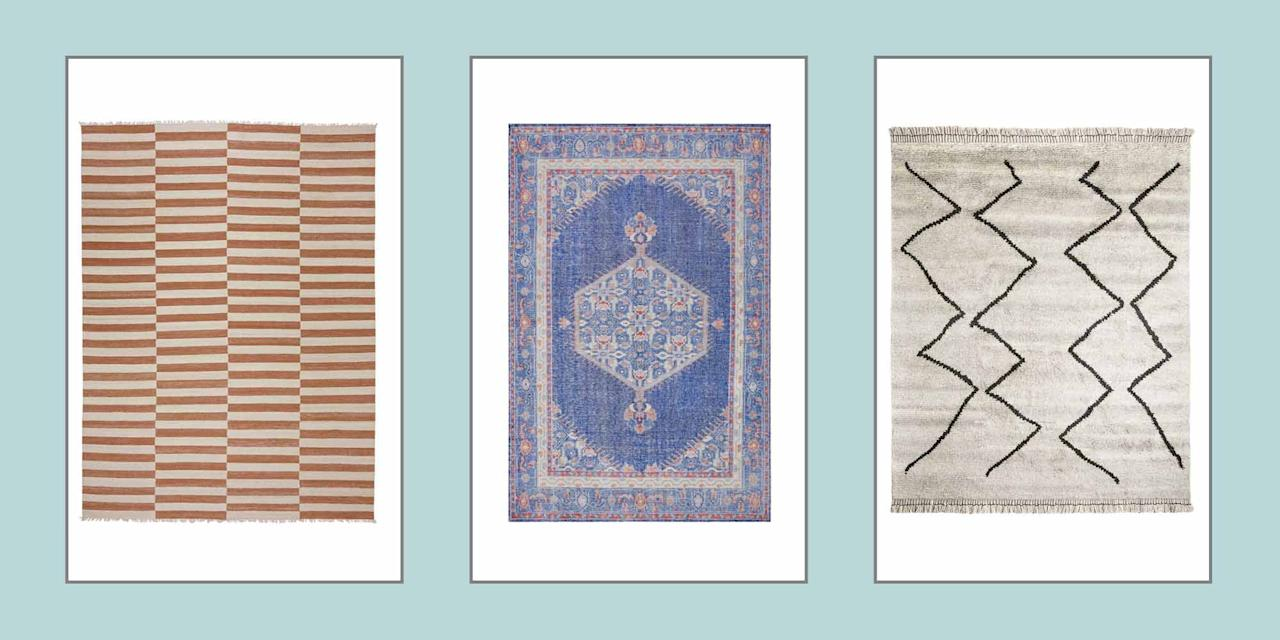 "<p>Whether you're looking to add texture to a bedroom or living space or simply need to define an area in your home, you can never go wrong with a <a href=""https://www.elledecor.com/design-decorate/interior-designers/how-to/a8607/living-room-rugs-ideas/"" target=""_blank"">rug</a> as part of your design scheme. Lulu & Georgia is currently offering <a href=""https://www.luluandgeorgia.com/big-rug-sale"" target=""_blank"">20% off</a> all rugs until April 25, with the code <strong>SPRING20</strong>. Shop some of our favorites below. </p>"