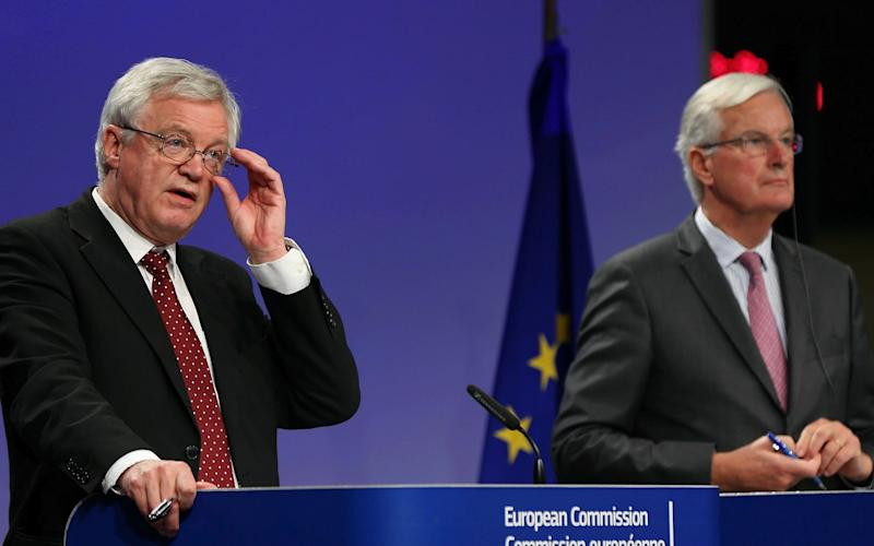 The EU's chief negotiator Michel Barnier said that divorce bill talks had reached a 'state of deadlock' - Anadolu
