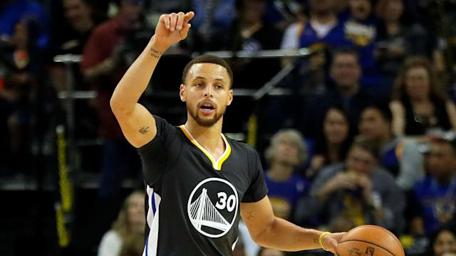 Uninvited from the White House, Warriors star Stephen Curry thanked LeBron James and Co. for standing up to US president Donald Trump.