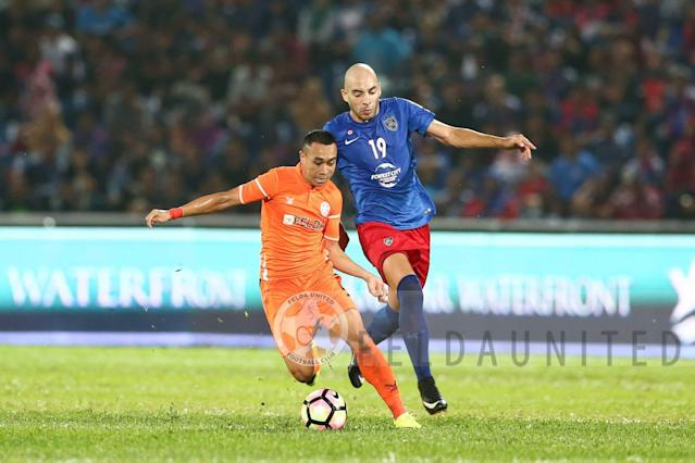 Norshahrul Idlan produced a wonderful performance against Ceres that has Sathianathan grinning from ear to ear