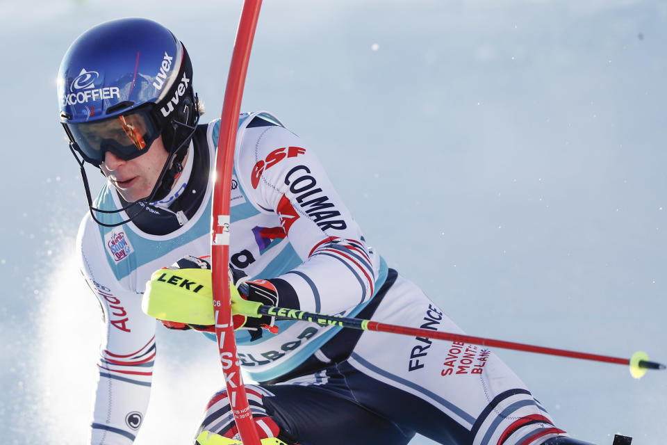 Noel Returns To Form Leads 1st Run Of World Cup Slalom