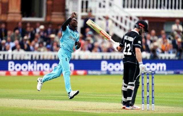 Archer during the ICC World Cup Final