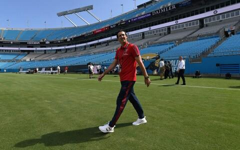 <span>The belief is that Unai Emery will want to return to a back four on a more permanent basis</span> <span>Credit: Arsenal FC </span>