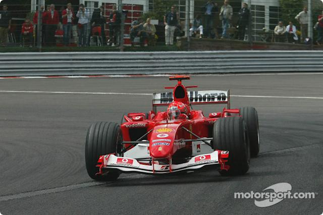 "Michael Schumacher - 72 victorias <span class=""copyright"">Bridgestone Corporation</span>"