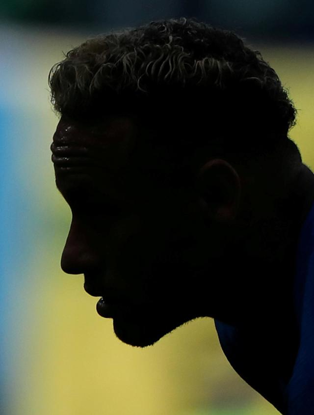 Soccer Football - World Cup - Group E - Brazil vs Costa Rica - Saint Petersburg Stadium, Saint Petersburg, Russia - June 22, 2018 Brazil's Neymar during the match REUTERS/Marcos Brindicci TPX IMAGES OF THE DAY