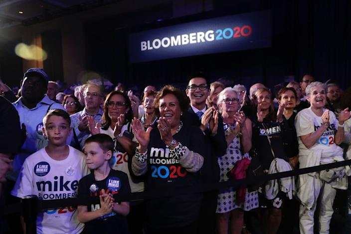 bloomberg supporters