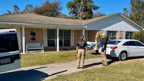 PHOTO: A woman was found dead outside a home in Anahuac, Texas, on Sunday, Nov. 24, 2019, with police saying she was killed by wild hogs. (Chambers County Sheriff's Office)
