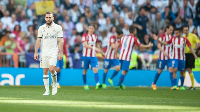 Atletico Madrid snatched a draw against Real Madrid to extend their rivals' poor run in league derbies at Santiago Bernabeu.