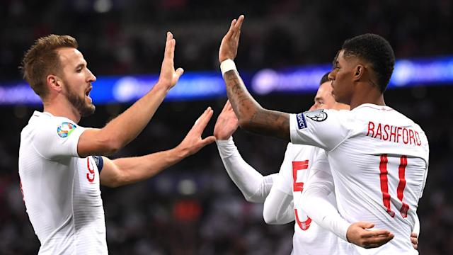 The head coach of the Balkan nation thinks Gareth Southgate's men are front-runners for next summer's tournament, but expects great support at home
