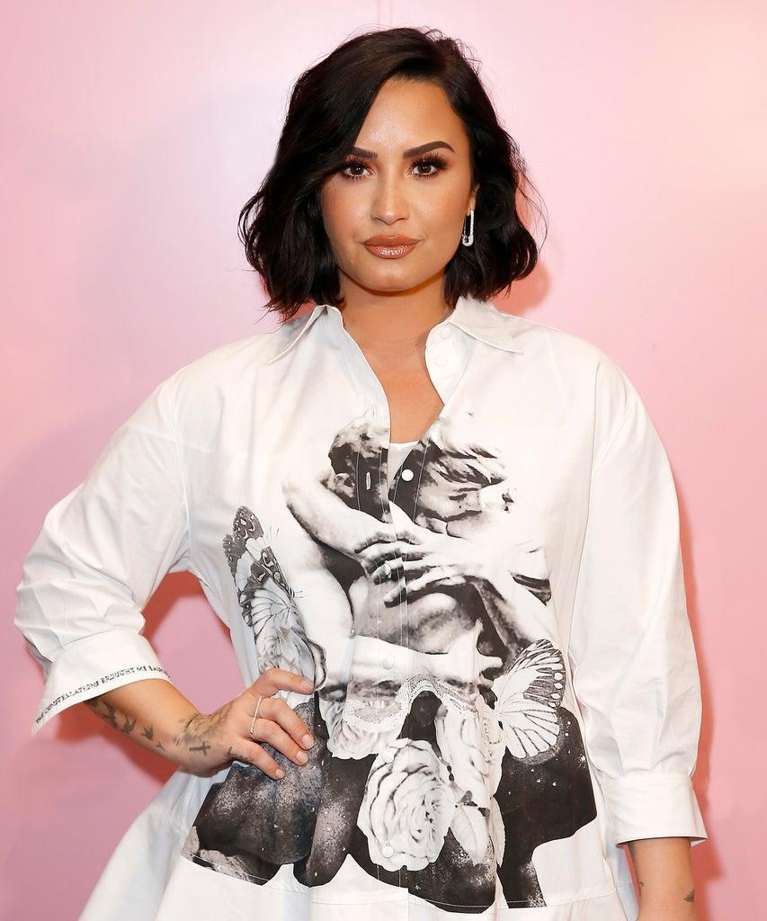 LOS ANGELES, CALIFORNIA – NOVEMBER 02: Demi Lovato attends the Teen Vogue Summit 2019 at Goya Studios on November 02, 2019 in Los Angeles, California. (Photo by Rachel Murray/Getty Images for Teen Vogue)
