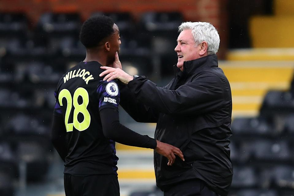 <p>Steve Bruce wants Arsenal loanee Joe Willock to stay at Newcastle this summer</p> (Getty Images)