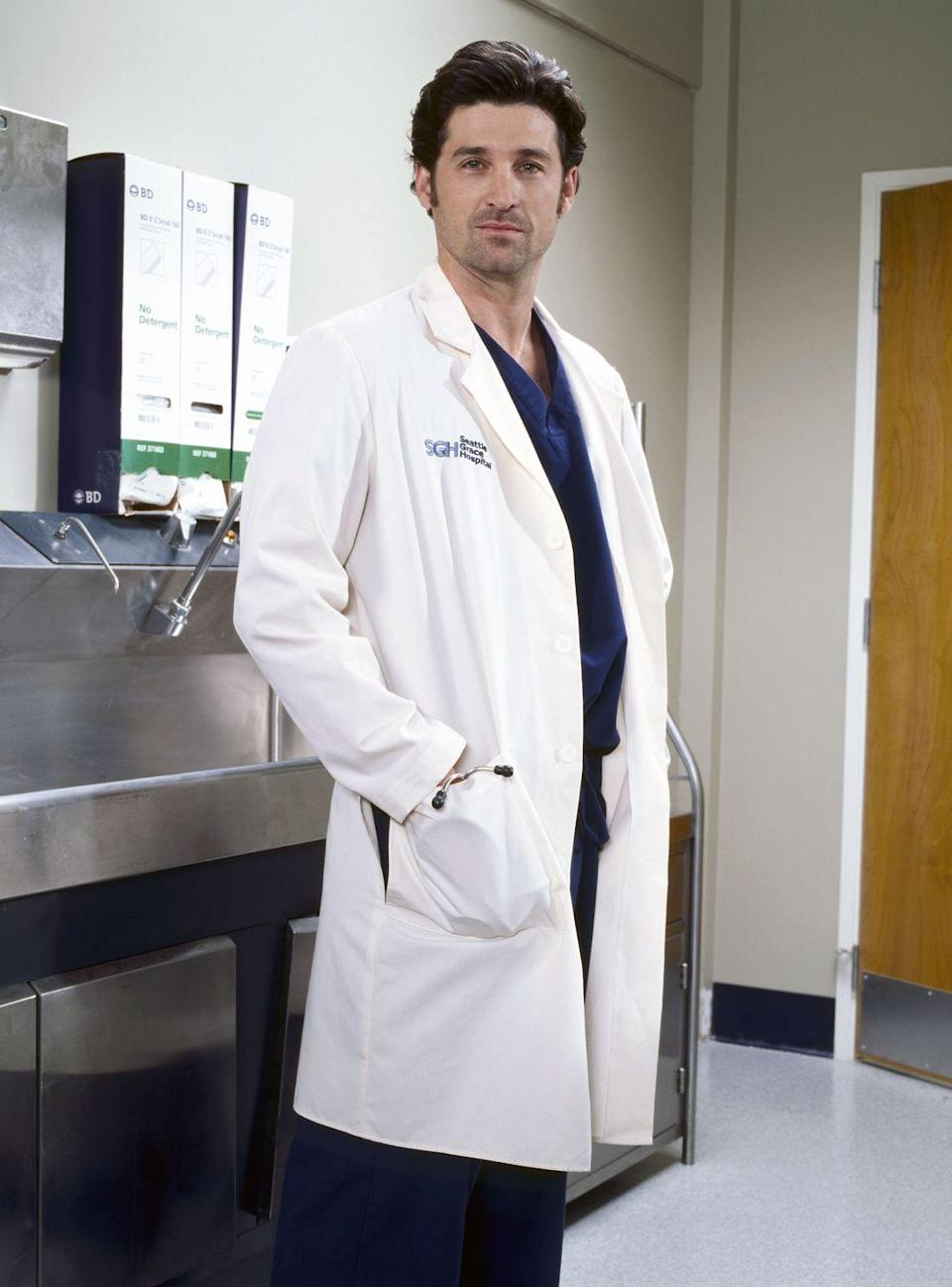 <p>Patrick Dempsey joined the cast of <em>Grey's Anatomy </em>in Season 1 as Derek Shepherd (a.k.a. McDreamy), a neurosurgeon and Meredith Grey's love interest. </p>