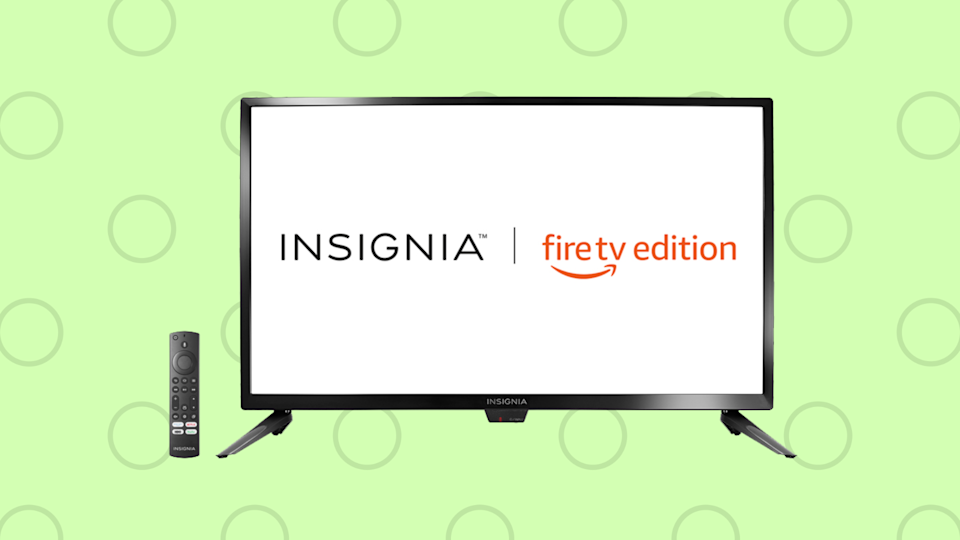 Save nearly 20 percent on the Insignia 43-inch Smart 4K Ultra HD TV—Fire TV Edition. (Photo: Amazon)