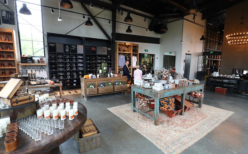 The New Bulleit Distilling Co. Retail Shop in Shelbyville, Ky