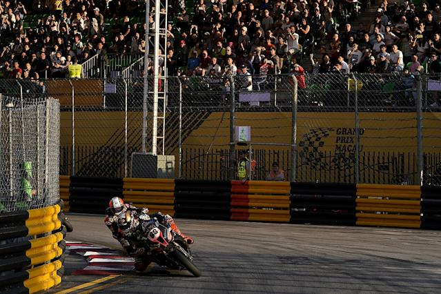 Macau Motorcycle GP cancelled after two red flags