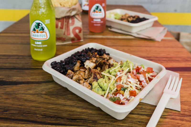 Naked burrito. (PHOTO: Mad Mex Singapore)