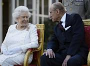 The Queen and Philip have been spending the lockdown at Windsor Castle