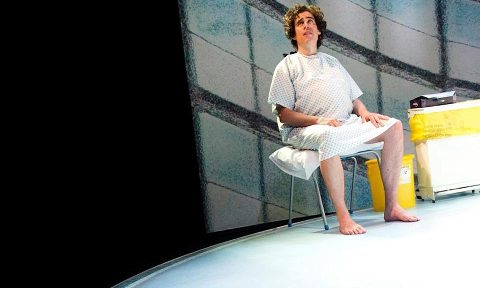 Stephen Mangan in Birthday by Joe Penhall at the Royal Court in 2012, directed by Roger Michell.