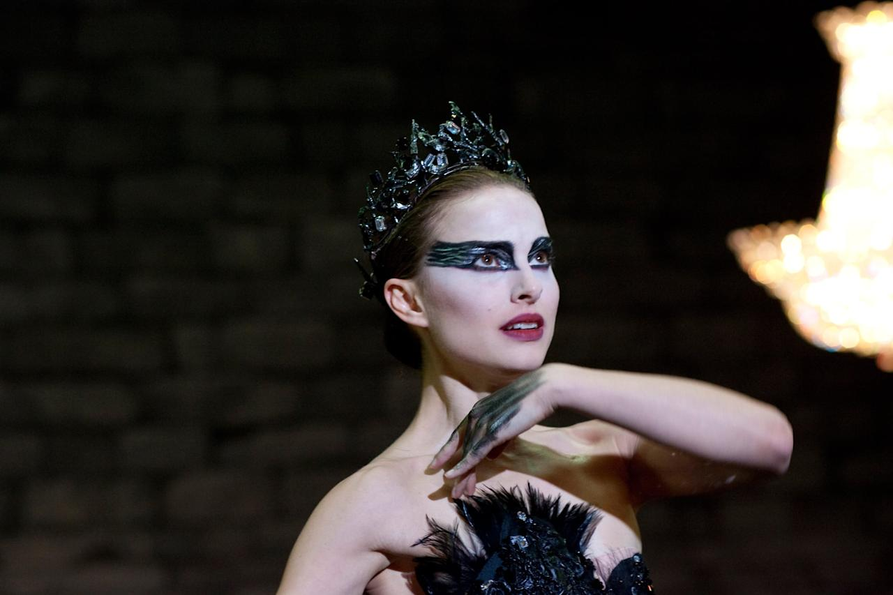"""<p>Psychological horror can be way scarier than ghosts and vampires, as Darren Aronofsky's masterful <strong>Black Swan</strong> proves. The story of dueling ballerinas Nina (<a class=""""sugar-inline-link ga-track"""" title=""""Latest photos and news for Natalie Portman"""" href=""""https://www.popsugar.com/Natalie-Portman"""" target=""""_blank"""" data-ga-category=""""Related"""" data-ga-label=""""https://www.popsugar.com/Natalie-Portman"""" data-ga-action=""""&lt;-related-&gt; Links"""">Natalie Portman</a>) and Lily (<a class=""""sugar-inline-link ga-track"""" title=""""Latest photos and news for Mila Kunis"""" href=""""https://www.popsugar.com/Mila-Kunis"""" target=""""_blank"""" data-ga-category=""""Related"""" data-ga-label=""""https://www.popsugar.com/Mila-Kunis"""" data-ga-action=""""&lt;-related-&gt; Links"""">Mila Kunis</a>) is full of dark turns and nightmarish imagery that will stay with you long after the movie ends. </p> <p><strong>When it's available:</strong> Oct. 1</p>"""