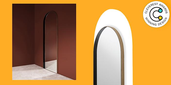 Slim Archway Mirror by Bower Studios Don't be surprised if your friends keep walking right into this mirror. At first glance, it appears to be an opening to another room—a genius design trick for teeny-tiny rental apartments. $2,950, bower-studios.com