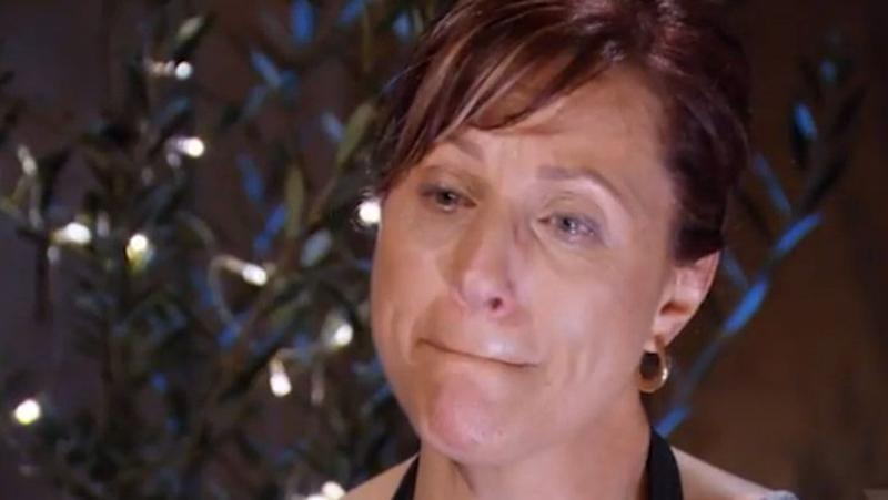 Anna in tears again - this just means so much to her. Source: Seven Network