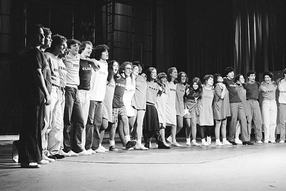 "<p>Lonny Price reexamines the 1981 Broadway production of the Stephen Sondheim musical <em>Merrily We Roll Along</em>, forming a reunion for its cast, largely made up of teenage actors, who saw their first chance at stardom squashed when the show closed after 16 performances.</p><p><a class=""link rapid-noclick-resp"" href=""https://www.netflix.com/watch/80132964?trackId=13752289&tctx=0%2C0%2C326de97a-bc9f-4dde-8b32-0f0fc5b3e925-18205236%2C%2C"" rel=""nofollow noopener"" target=""_blank"" data-ylk=""slk:Watch Now"">Watch Now</a></p>"