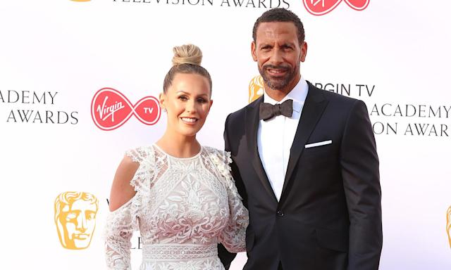 Kate and Rio Ferdinand and their family are the focus of a new BBC documentary. (PA)