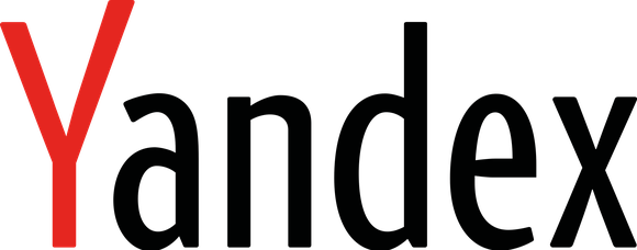 Yandex black and red logo