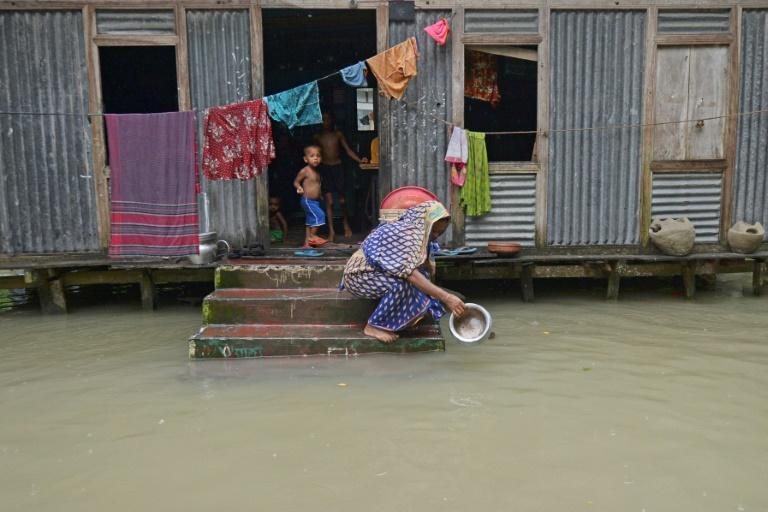 Bangladesh was among countries struck by floods in 2020