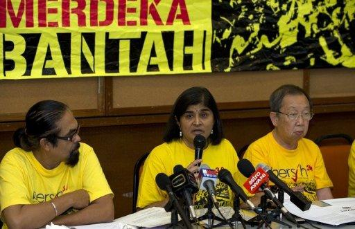 Leaders of electoral reform pressure group Bersih 2.0 vow to go ahead with the protest despite the crackdown