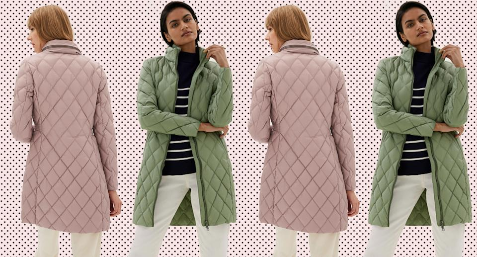 We can't believe this luxurious coat is under £100 from M&S. (Marks & Spencer)