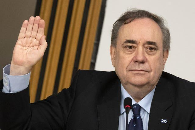 Alex Salmond at Salmond inquiry