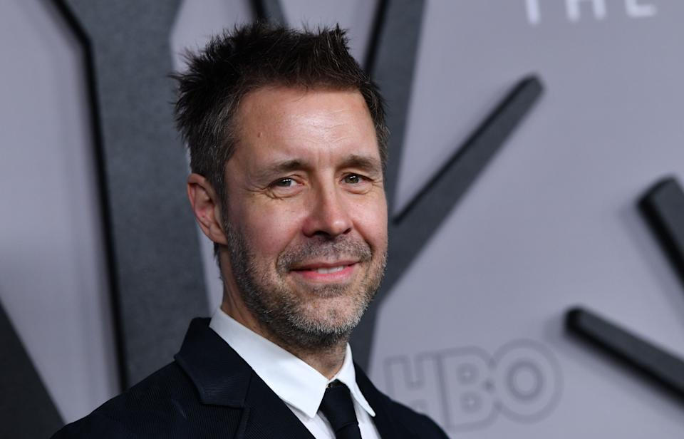 """British actor Paddy Considine arrives for the HBO series premiere of """"The Outsider"""" at the DGA theatre in Los Angeles on January 9, 2020. (Photo by Chris Delmas / AFP) (Photo by CHRIS DELMAS/AFP via Getty Images)"""
