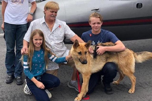 Puppy stolen from family two years ago found nearly 2,000 miles away